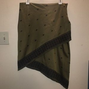 **RARE** Free People Asymmetrical Skirt